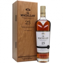 麦卡伦25年雪莉桶单一麦芽苏格兰威士忌 Macallan 25YO Sherry Oak Highland Single Malt Scotch Whisky 700ml