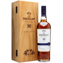 麦卡伦30年雪莉桶单一麦芽苏格兰威士忌 Macallan 30YO Sherry Oak Highland Single Malt Scotch Whisky 700ml