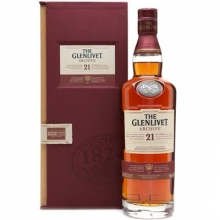 格兰威特21年单一麦芽苏格兰威士忌 Glenlivet 21 Years of Age Archive Single Malt Scotch Whisky 700ml