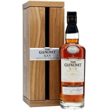 格兰威特25年单一麦芽苏格兰威士忌 Glenlivet XXV 25 Years of Age Single Malt Scotch Whisky 700ml