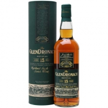 格兰多纳15年复兴雪莉桶单一麦芽苏格兰威士忌 Glendronach Aged 15 Years Revival Highland Single Malt Scotch Whisky 700ml