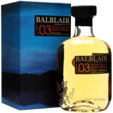 巴布莱尔2003年第一版单一麦芽苏格兰威士忌 Balblair Vintage 2003 1st Release Highland Single Malt Scotch Whisky 700ml