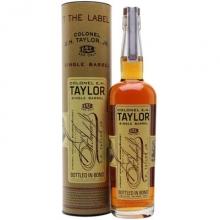 泰勒上校单桶波本威士忌 Colonel E.H. Taylor Single Barrel Straight Kentucky Bourbon Whiskey 750ml