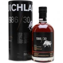 布赫拉迪1986/30年七子争辉单一麦芽苏格兰威士忌 Bruichladdich Rare Cask Series 1986/30 The Magnificent Seven Single Malt Scotch Whisky 700ml