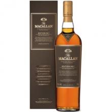 麦卡伦限量版单一麦芽苏格兰威士忌第一版 Macallan Edition No.1 Highland Single Malt Scotch Whisky 700ml