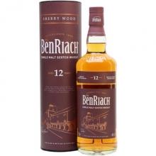本利亚克12年雪莉桶单一麦芽苏格兰威士忌 Benriach 12 Year Old Sherry Wood Speyside Single Malt Scotch Whisky 700ml