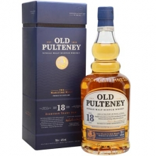 富特尼18年单一麦芽苏格兰威士忌 Old Pulteney 18 Year Old Single Malt Scotch Whisky 700ml