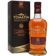汤玛丁14年波特桶单一麦芽苏格兰威士忌 Tomatin 14 Year Old Tawny Port Finish Highland Single Malt Scotch Whisky 700ml