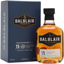 【限时特惠】巴布莱尔15年单一麦芽苏格兰威士忌 Balblair 15 Year Old Highland Single Malt Scotch Whisky 700ml