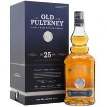 富特尼25年单一麦芽苏格兰威士忌 Old Pulteney 25 Year Old Single Malt Scotch Whisky 700ml