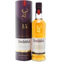 格兰菲迪15年融合桶单一麦芽苏格兰威士忌 Glenfiddich Aged 15 Years Solera Single Malt Scotch Whisky 700ml(新旧包装随机发货)