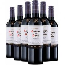 干露酒庄红魔鬼梅洛干红葡萄酒 Casillero del Diablo Merlot 750ml
