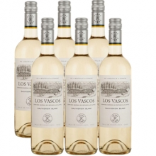 拉菲巴斯克长相思干白葡萄酒 LOS VASCOS SAUVIGNON BLANC 750ml