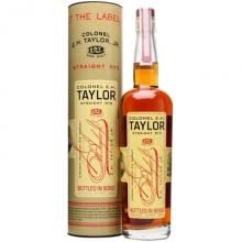 泰勒上校黑麦威士忌 E.H. Taylor Straight Rye Whiskey 750ml