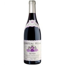 佩高酒庄罗纳河谷村庄赛提尔珍藏干红葡萄酒 Chateau Pegau Cotes du Rhone Villages Cuvee Setier 750ml
