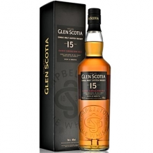 【限时特惠】格兰帝15年单一麦芽苏格兰威士忌 Glen Scotia 15 Year Old Campbeltown Single Malt Scotch Whisky 700ml