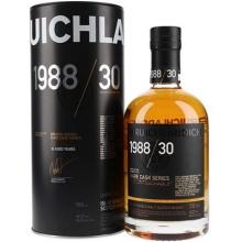 布赫拉迪1988/30年如意单一麦芽苏格兰威士忌 Bruichladdich Rare Cask Series 1988/30 The Untouchable Single Malt Scotch Whisky 700ml