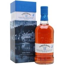 托本莫瑞12年波特桶单一麦芽苏格兰威士忌 Tobermory 12 Year Old Port Pipe Finish Single Malt Scotch Whisky 700ml