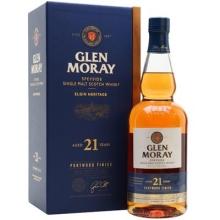 格兰莫雷埃尔金传承21年波特桶单一麦芽苏格兰威士忌 Glen Moray Elgin Heritage Aged 21 Years Port Wood Finish Speyside Single Malt Scotch Whisky 700ml