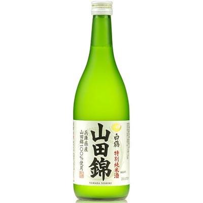 白鹤山田锦特别纯米酒清酒 720ml