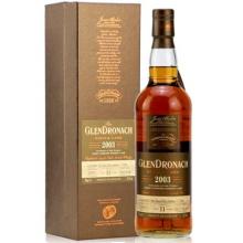格兰多纳2003/11年PX雪莉单桶单一麦芽苏格兰威士忌 Glendronach 2003 11 Year Old PX Sherry Cask Single Malt Scotch Whisky 700ml