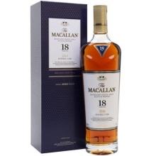 麦卡伦18年双雪莉桶单一麦芽苏格兰威士忌 Macallan 18 Year Old Double Cask Highland Single Malt Scotch Whisky 700ml