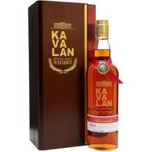噶玛兰经典独奏Manzanilla雪莉桶原酒单一麦芽威士忌 Kavalan Solist Manzanilla Sherry Cask Strength Single Malt Whisky 750ml