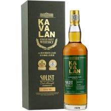 噶玛兰经典独奏波本桶原酒单一麦芽威士忌 Kavalan Solist ex-Bourbon Cask Strength Single Malt Whisky 700ml