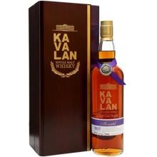噶玛兰经典独奏Moscatel雪莉桶原酒单一麦芽威士忌 Kavalan Solist Moscatel Sherry Cask Strength Single Malt Whisky 750ml