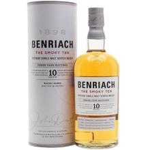 本利亚克10年烟熏单一麦芽苏格兰威士忌 Benriach The Smoky Ten 10 Year Old Speyside Single Malt Scotch Whisky 700ml