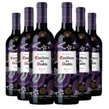 干露酒庄红魔鬼尊龙梅洛干红葡萄酒 Casillero del Diablo Merlot 750ml