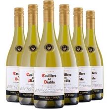 干露酒庄红魔鬼霞多丽干白葡萄酒 Casillero del Diablo Chardonnay 750ml