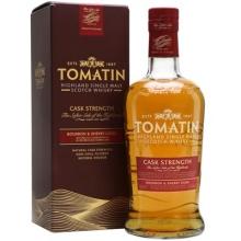 【限时特惠】汤玛丁桶强单一麦芽苏格兰威士忌 Tomatin Cask Strength Highland Single Malt Scotch Whisky 700ml