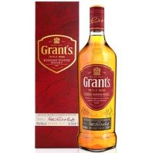 格兰三桶陈酿调和苏格兰威士忌 Grant's Triple Wood Blended Scotch Whisky 700ml