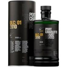 布赫拉迪波夏OLC:01单一麦芽苏格兰威士忌 Bruichladdich Port Charlotte OLC:01 2010 Heavily Peated Single Malt Scotch Whisky 700ml