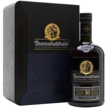 布纳哈本30年单一麦芽苏格兰威士忌 Bunnahabhain 30 Year Old Islay Single Malt Scotch Whisky 700ml