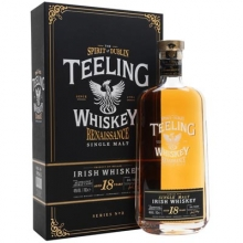 帝霖18年文艺复兴第二部单一麦芽爱尔兰威士忌 Teeling 18 Year Old Renaissance Series 2 Single Malt Irish Whiskey 700ml